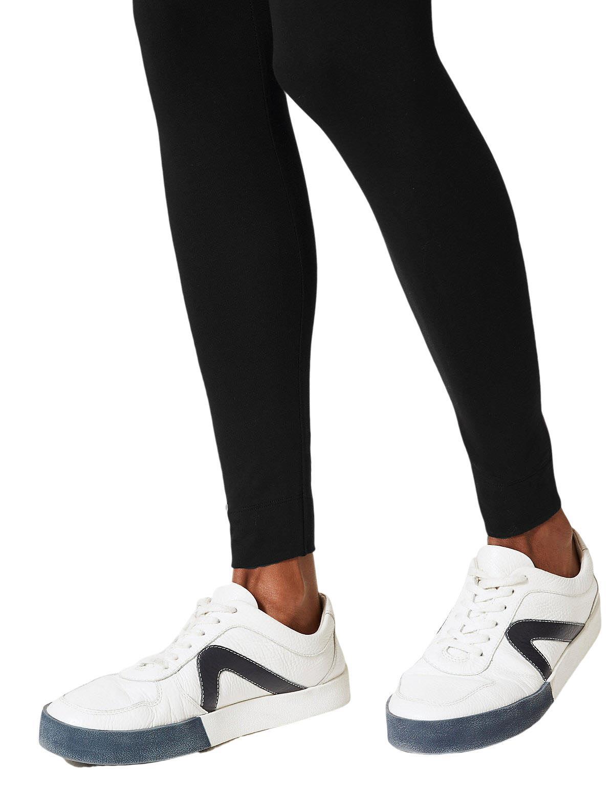 Ex M/&S Leggings Navy Berry Charcoal Grey Black Size 6-24