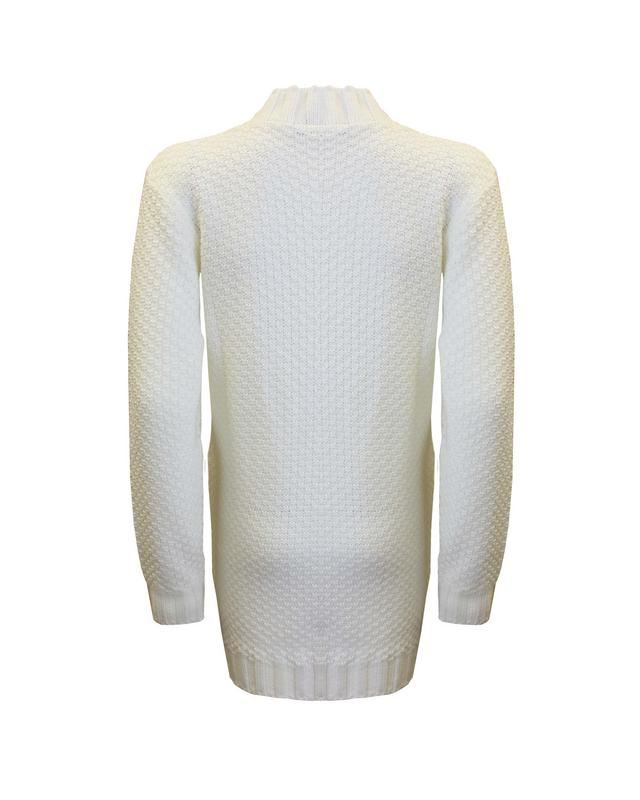 Neuf Femmes Femmes Tricot Manches Longues en Tricot Torsadé Pull Stretch Robe Top Pull