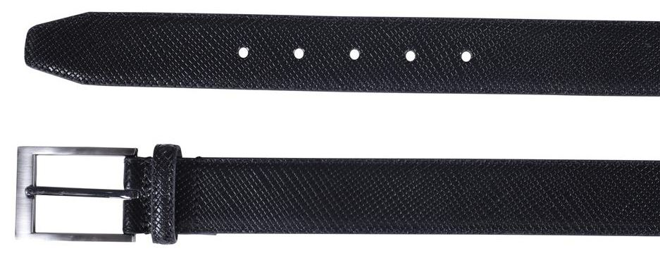 NUOVA linea uomo 35 mm di larghezza RETTILI PELLE REAL LEATHER PIN BELT S-3XL