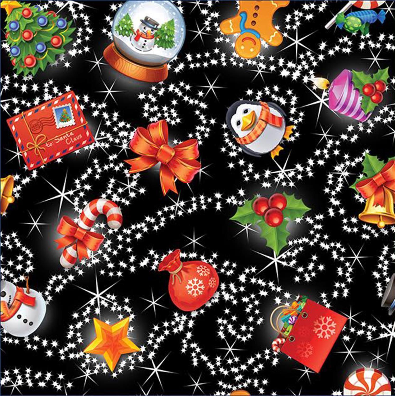 Damas Navidad Azteca Santa Jengibre Pan Copos de Nieve Térmico De punto Sudadera Jumper