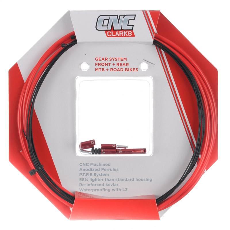 Clarks CNC Zéro-G Léger Mtb vélo de route dérailleur Gear Câble kits