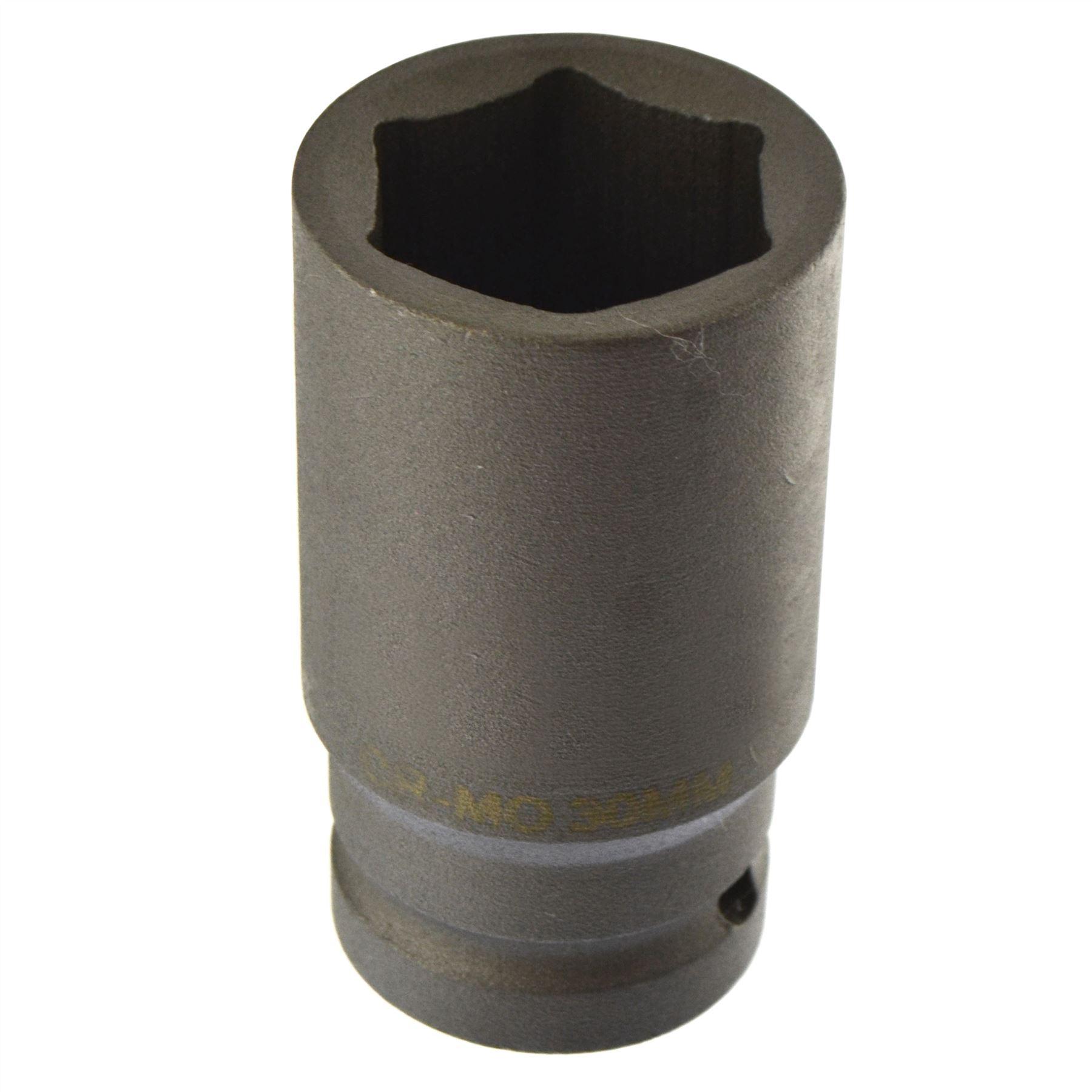 30mm Metrische 3/4 Antrieb tief buchse 6 seitig Single Hex Dickwandige