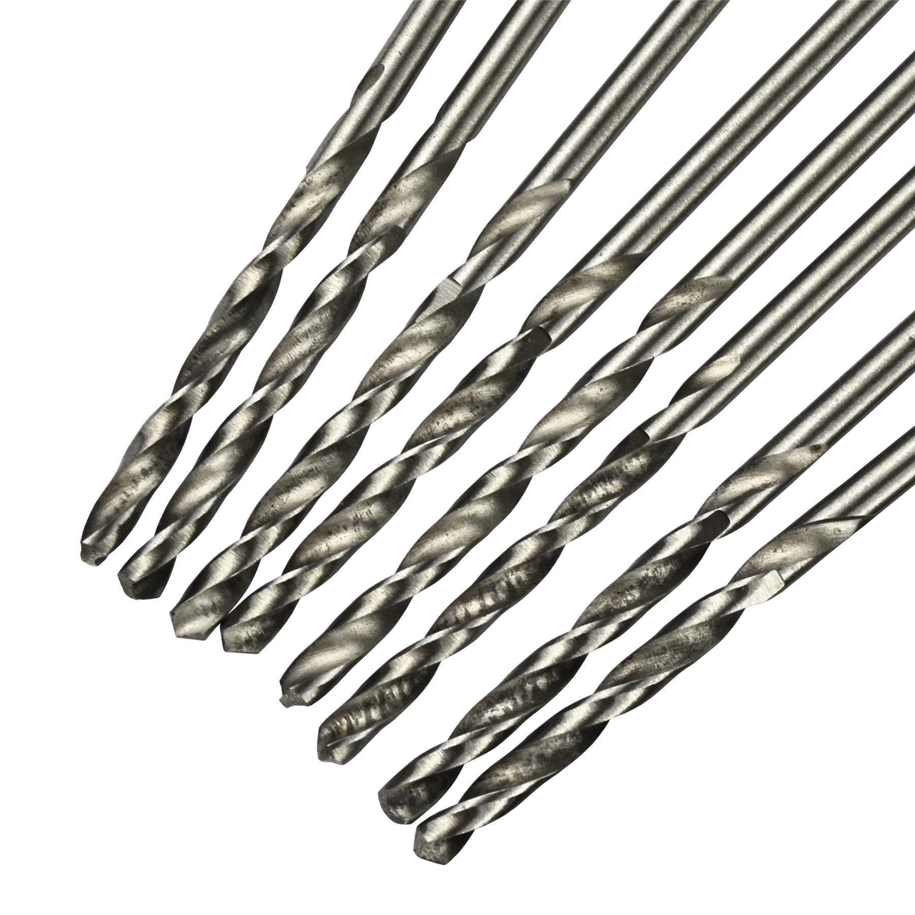 8 pcs Bohrer HSS 2,5 mm lange Reihe TE099