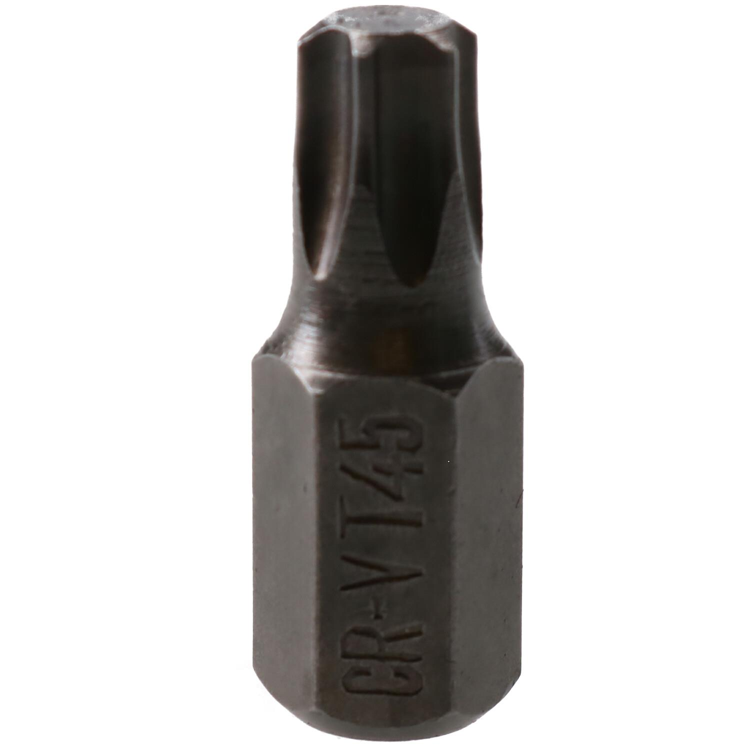 T60 Torx Star Male Bits With 10mm Shank 30mm or 75mm Length T20
