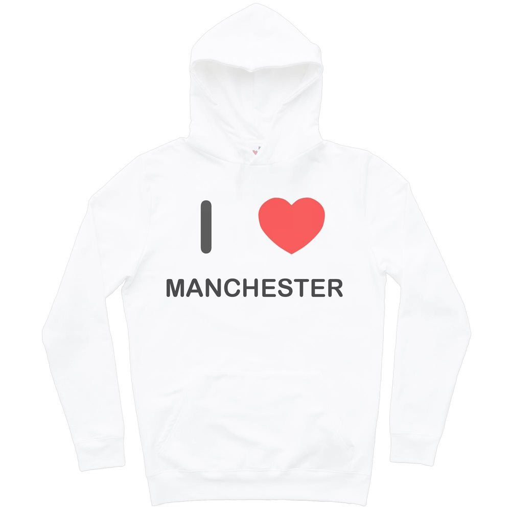 Hoodie I Love Manchester