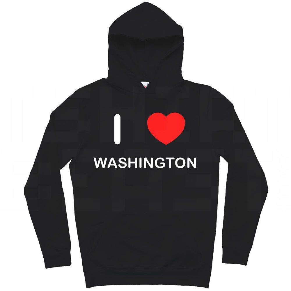 Hoodie I Love Washington