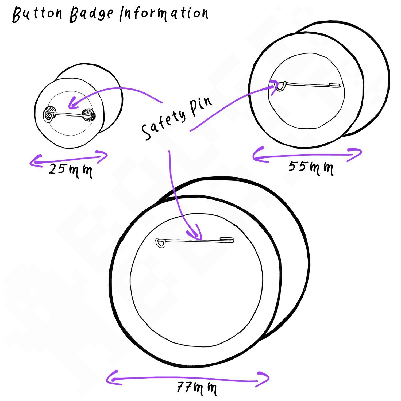 I Love Boobs Button Badge Choice 25mm//55mm//77mm Novelty Fun BadgeBeast
