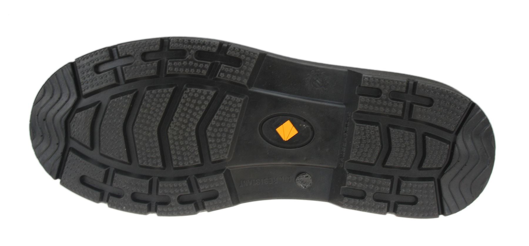 ET Safety I0020 Chelsea Black Slip On Safety Leather Work Toecap Boots
