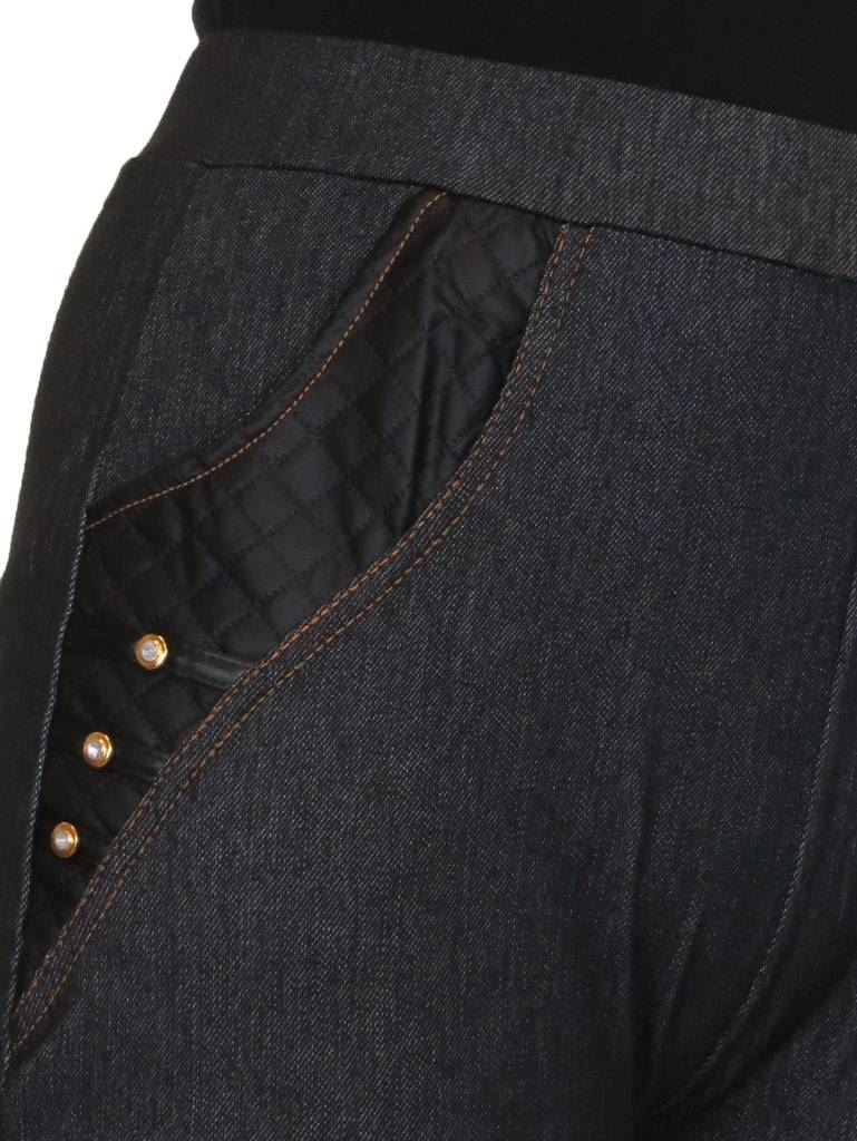 ICE Jeggings Relax Fit jeans stile con tasche VITA ALTA 12-24