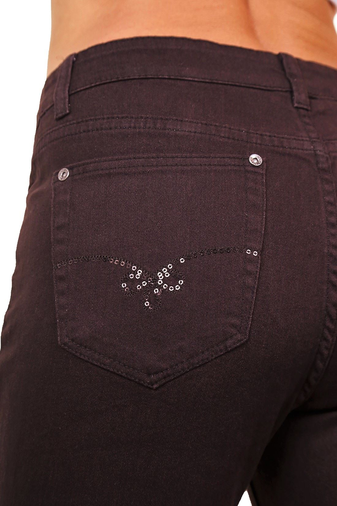 Ladies Plus Size Straight Leg High Waist Stretch Denim Jeans Full Length 14-24