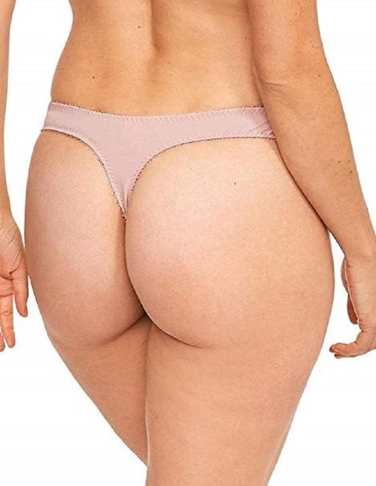 Ladies Lepel Fiore Lace Thong Brief Knickers 93212 Rose Gold//Ivory
