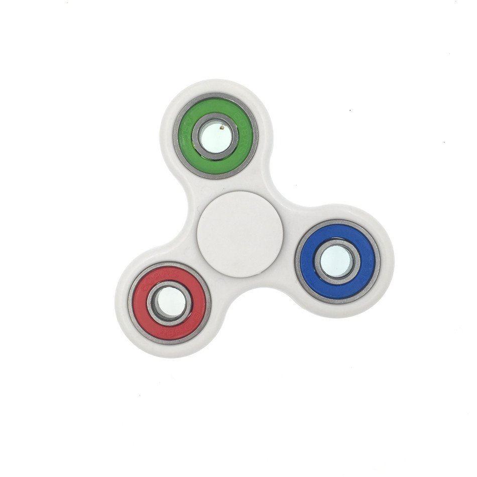 Fidget Spinner MANO DITA BAR EDC pocket messa a fuoco da tavolo fatto a mano a mano finito