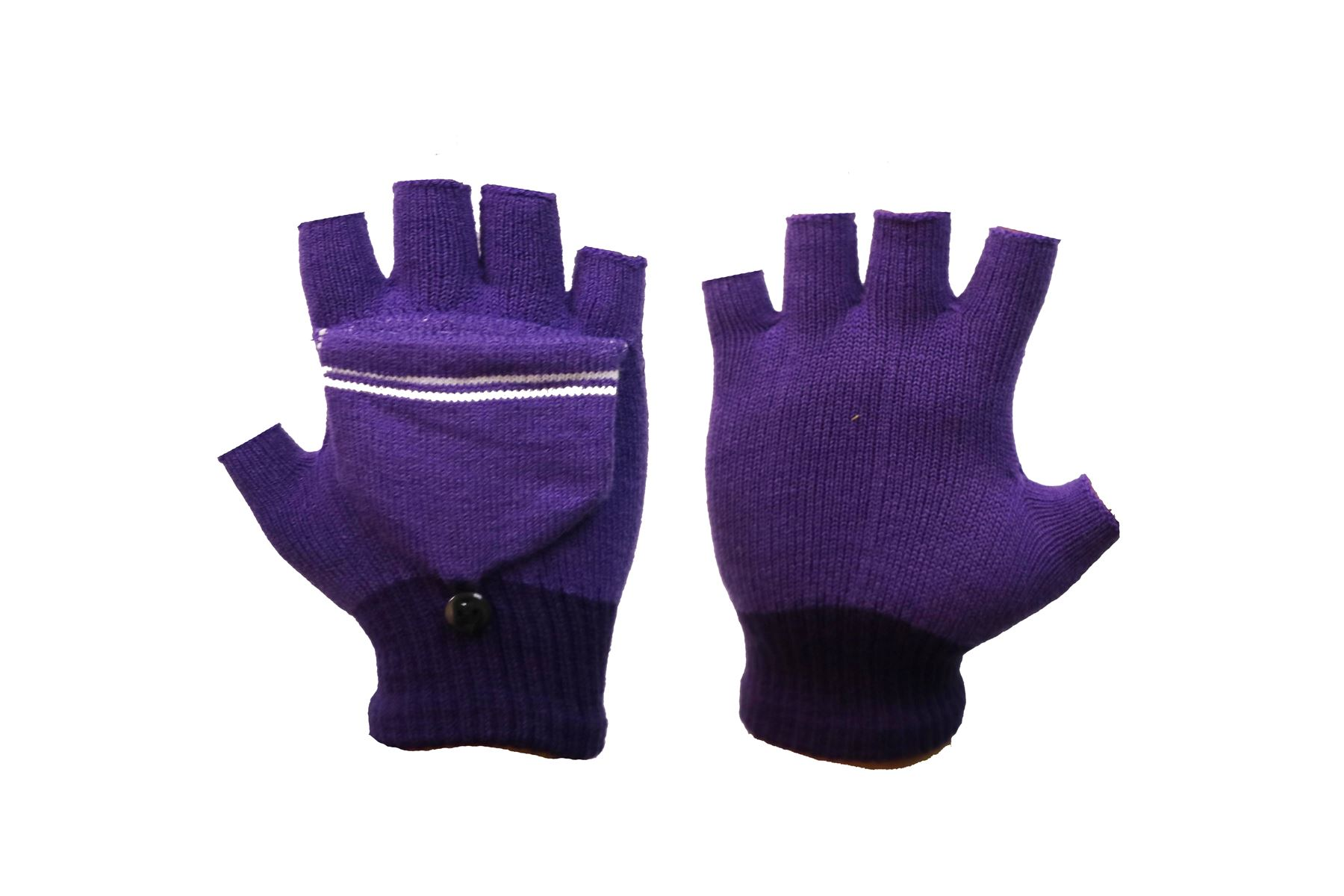 MITTEN GLOVE XMAS GL143 LADIES CONVERTER GLOVE MULTI USE 2in1 FINGERLESS GLOVE