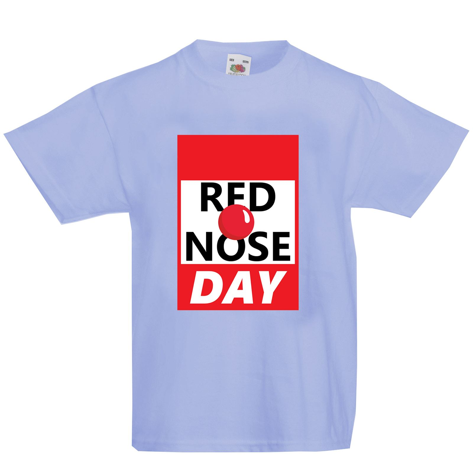 Red nose day fashion t shirt