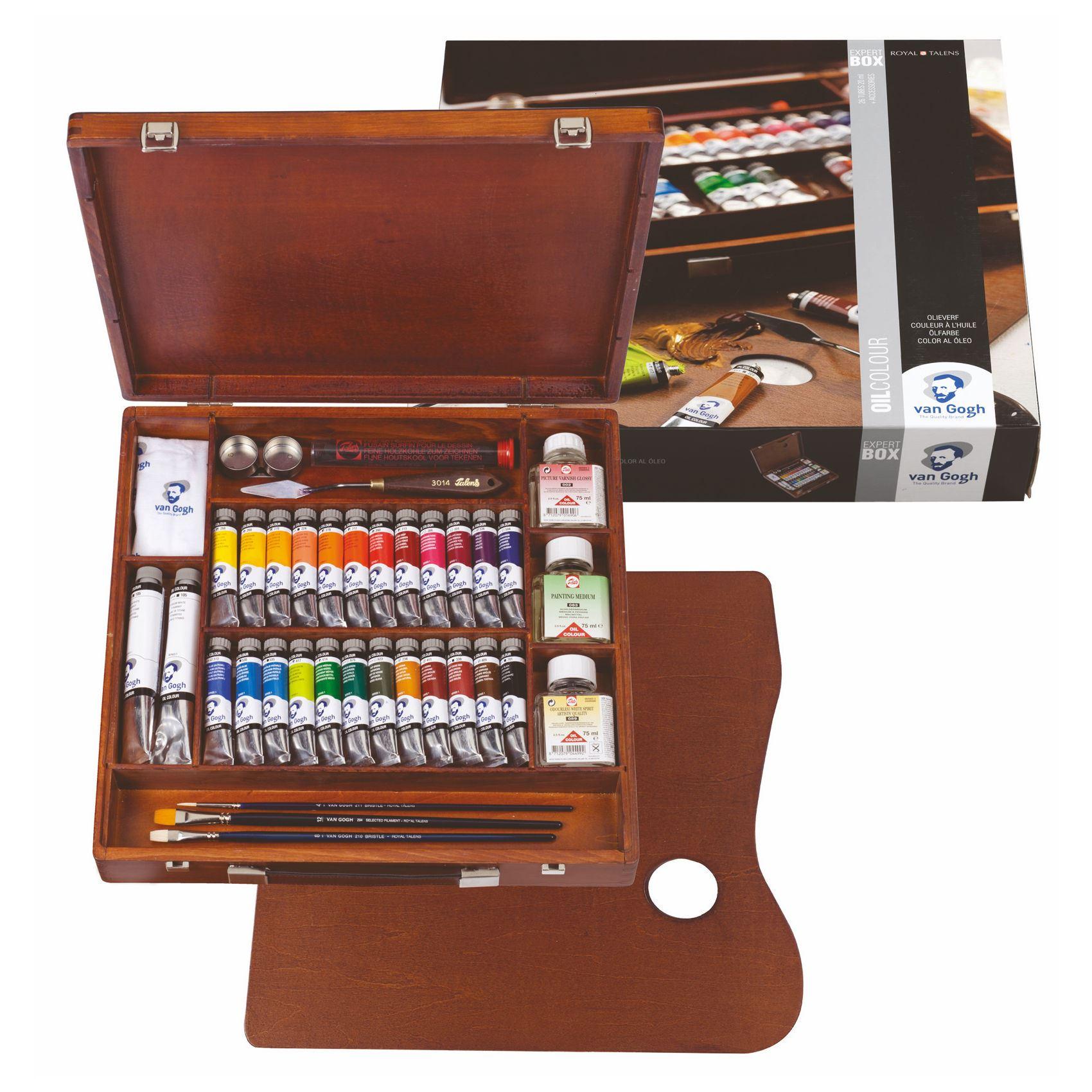 oil colour paint Studio artists sets tubes Van Gogh Oil painting