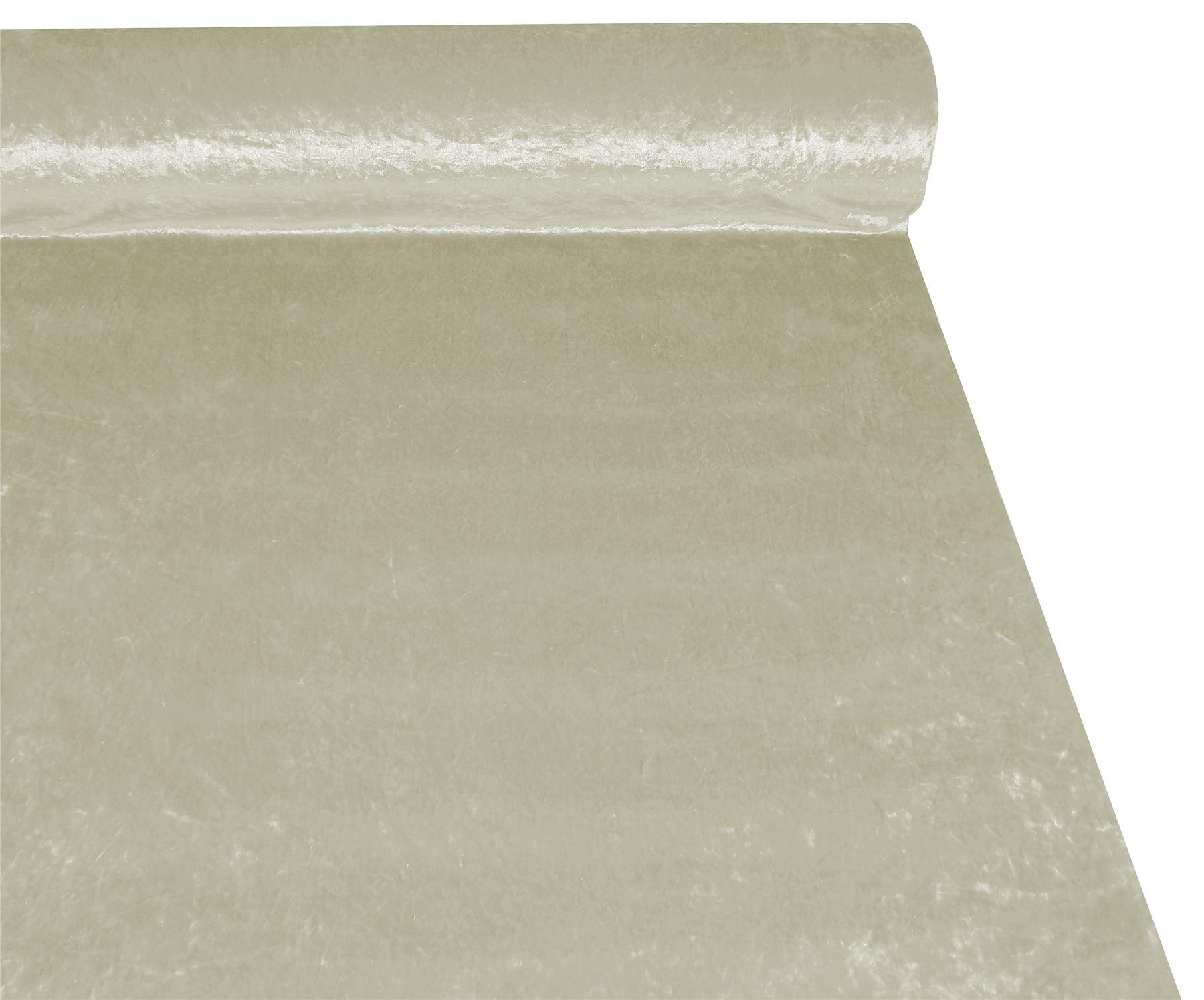 Beige Crushed Velvet material de tela de alta calidad 3 Tamaños *