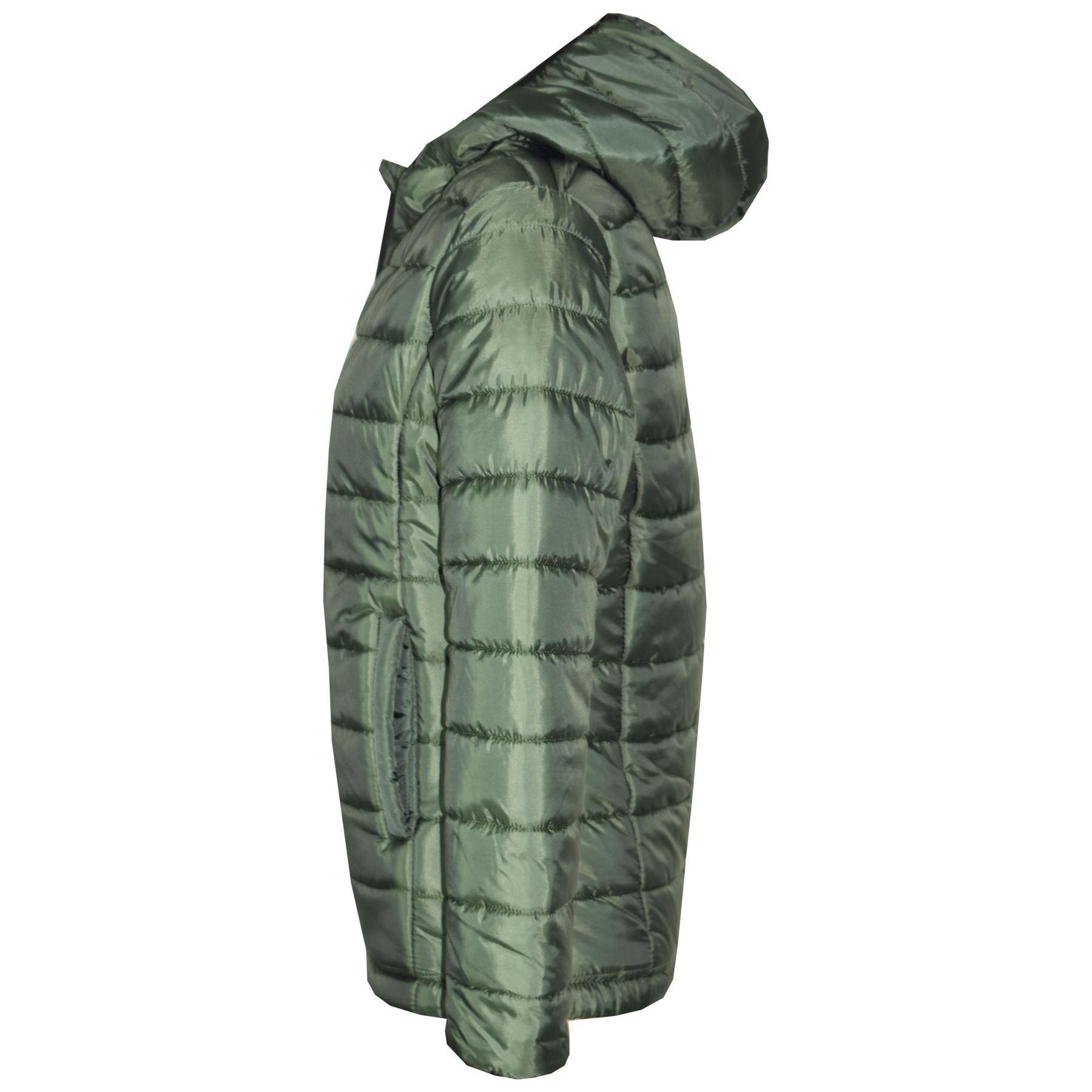 Boys Jacket Kids Designer/'s Foam Padded Puffa School Warm Thick Coats 3-13 Years