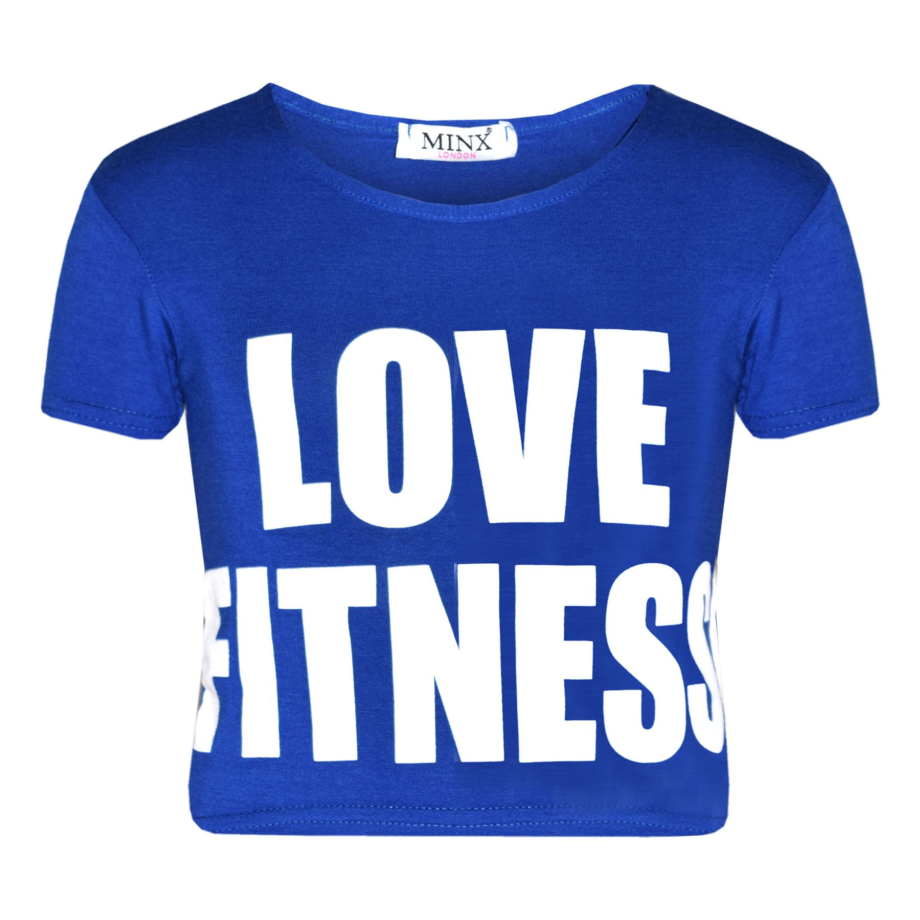 Girls Tops Kids Designer/'s Love Fitness Print Crop Top /& Legging Set 7-13 Years