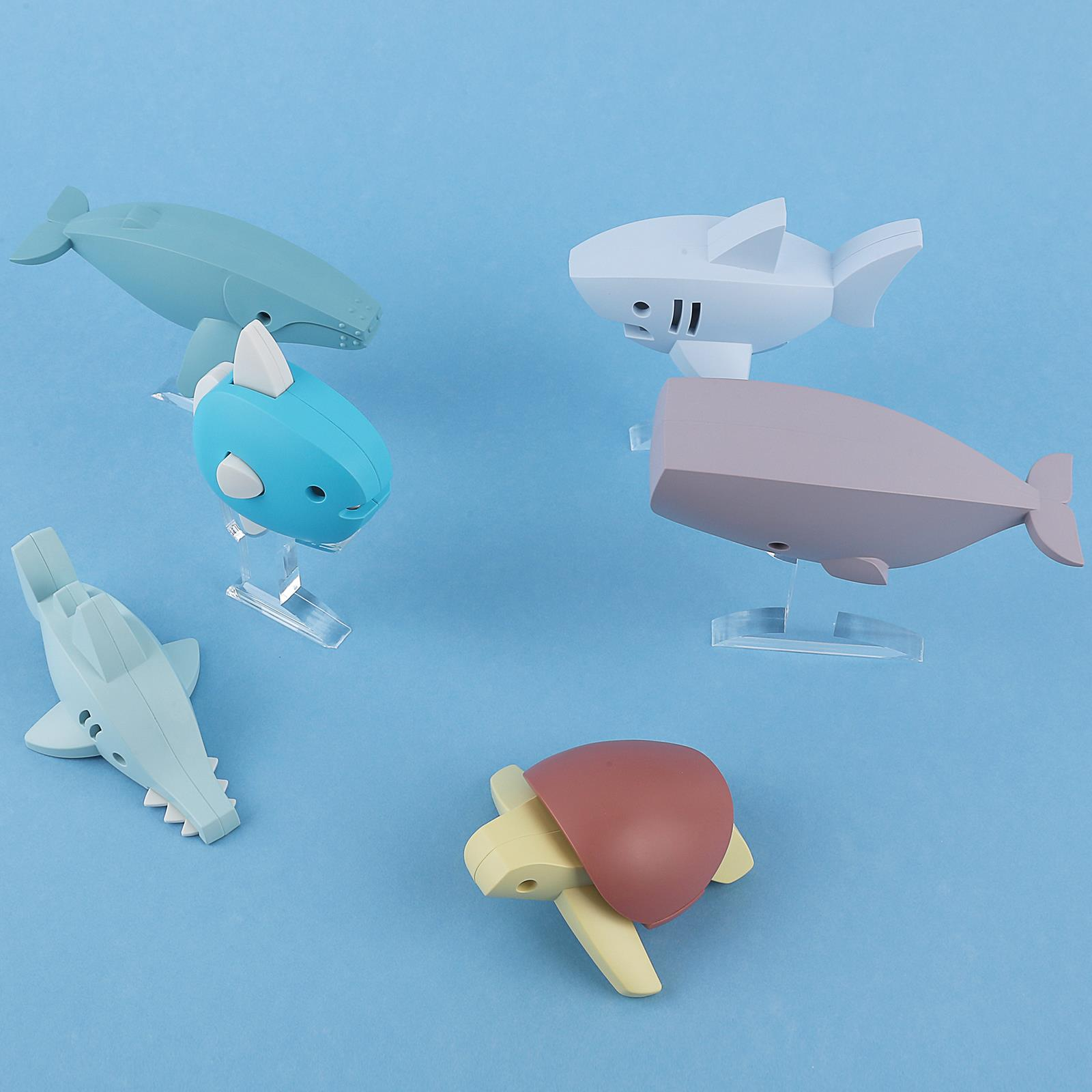 Display NEW Halftoys Collectible magnétique Ocean Animaux 3D Jigsaw Puzzle Jouet