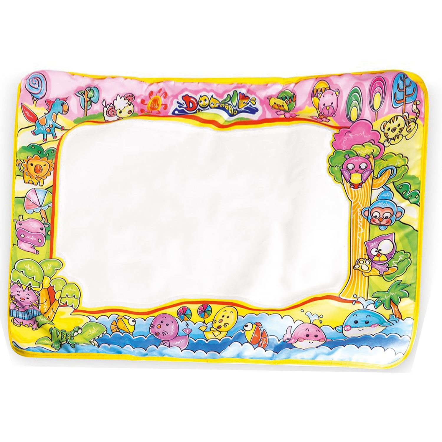 Aquadoodle Kids Toy Water Drawing Writing Painting Mat Board Magic Pen Doodle