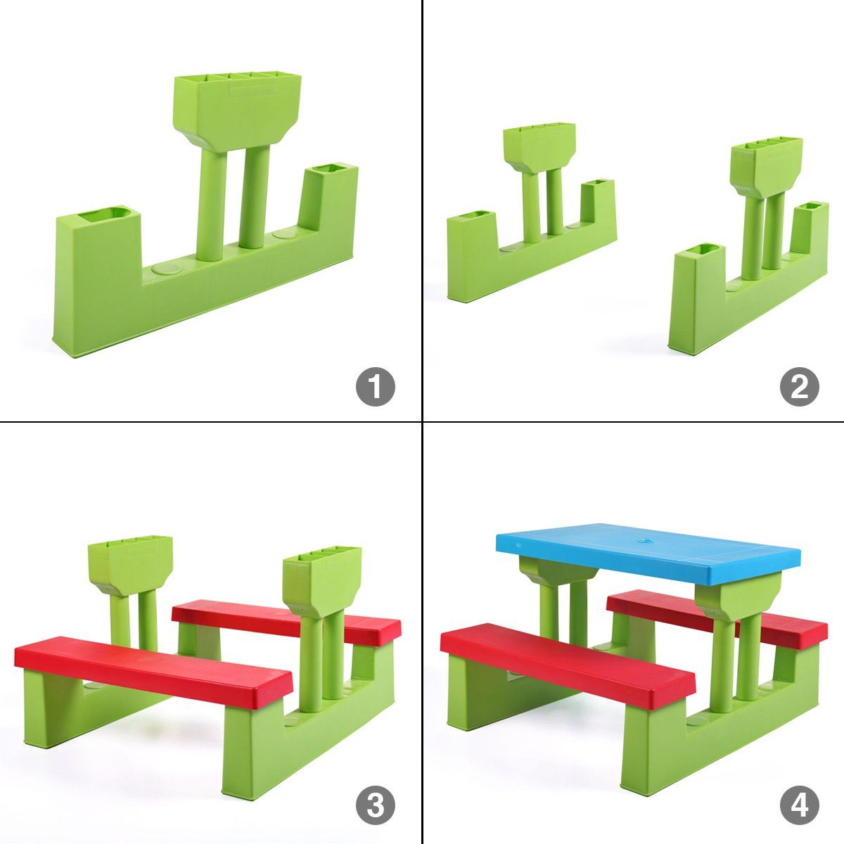 Kids//Adults Picnic Table Chair Bench Set Bbq Camping Outdoor Garden Furniture