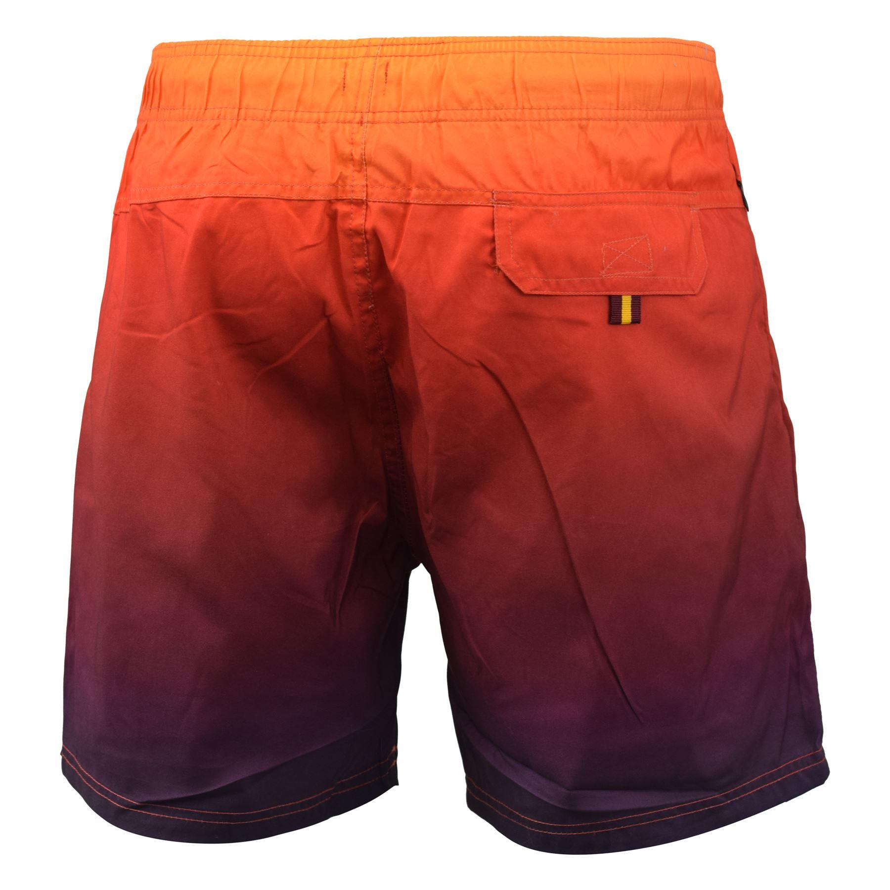 Mens Swim Short Crosshatch Norlane MeshLined Beach Shorts