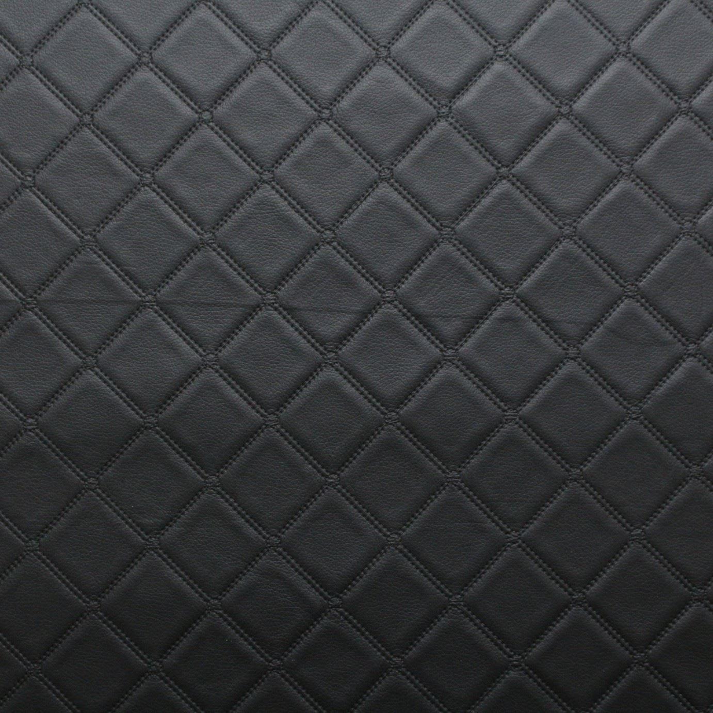 Bentley Diamante puntada en Relieve Efecto Camper Barco Tapicería coche Imitación de cuero