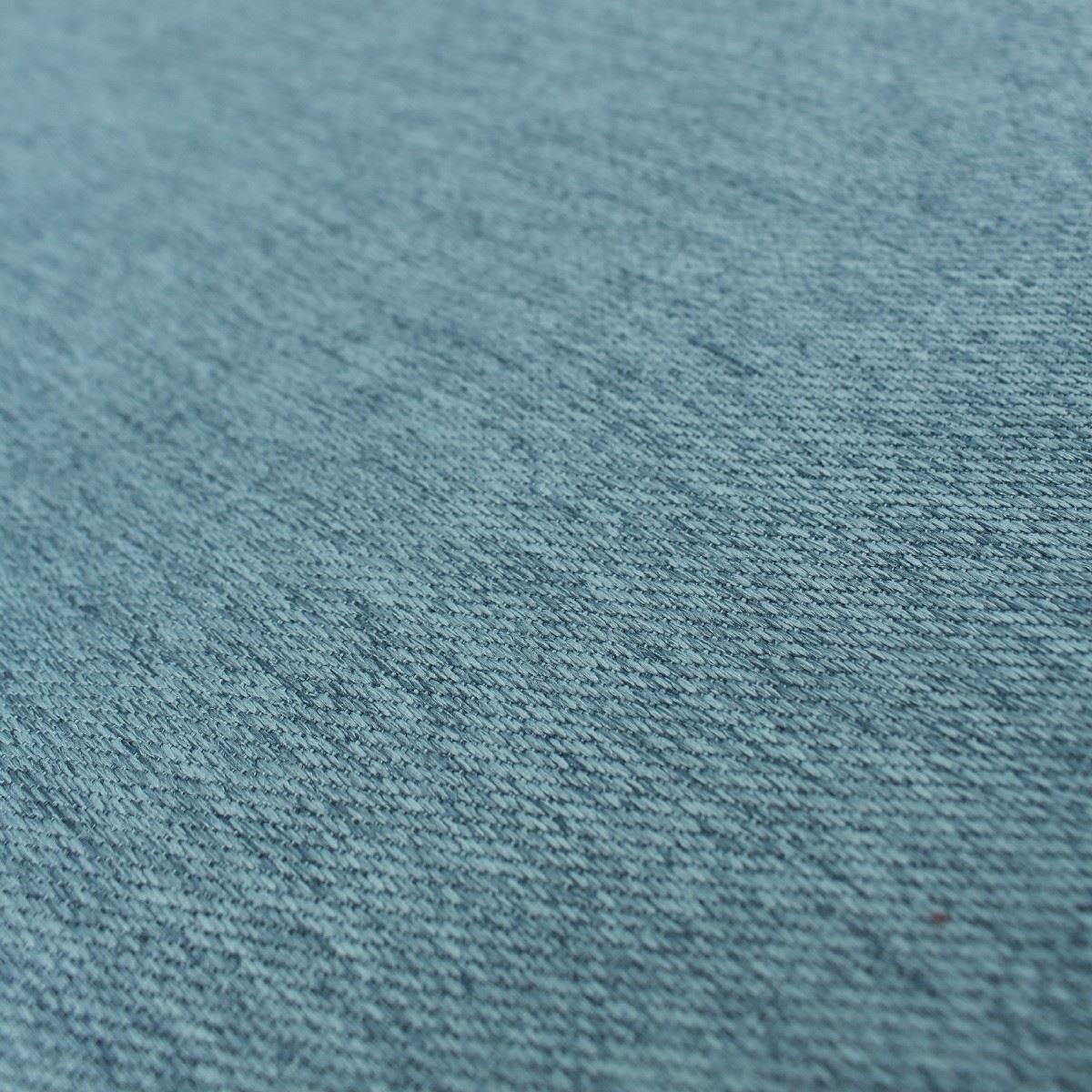Cerceta Azul Brillo Lino Look saphielle Satén de imitación con textura de tela de tapicería