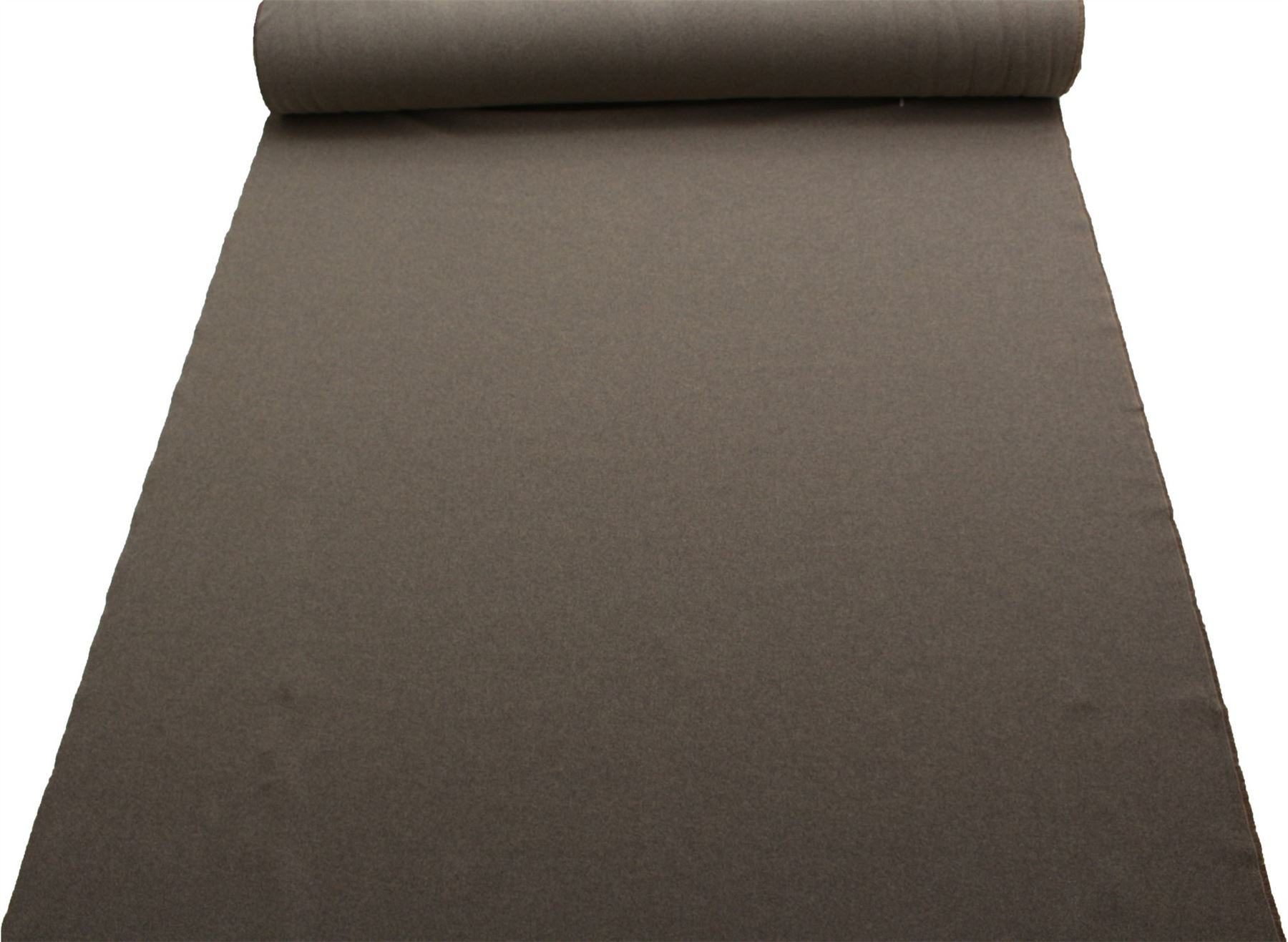TRADITIONAL TWILL WEAVE SOFT PLAIN FURNISHING COTTON FAUX WOOL UPHOLSTERY FABRIC