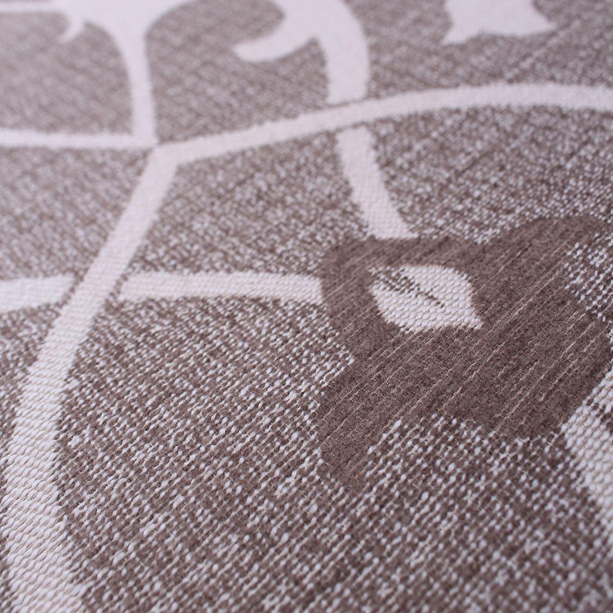 Concorde Natural Damask Pattern Regal Melange Curtain Upholstery Fabric