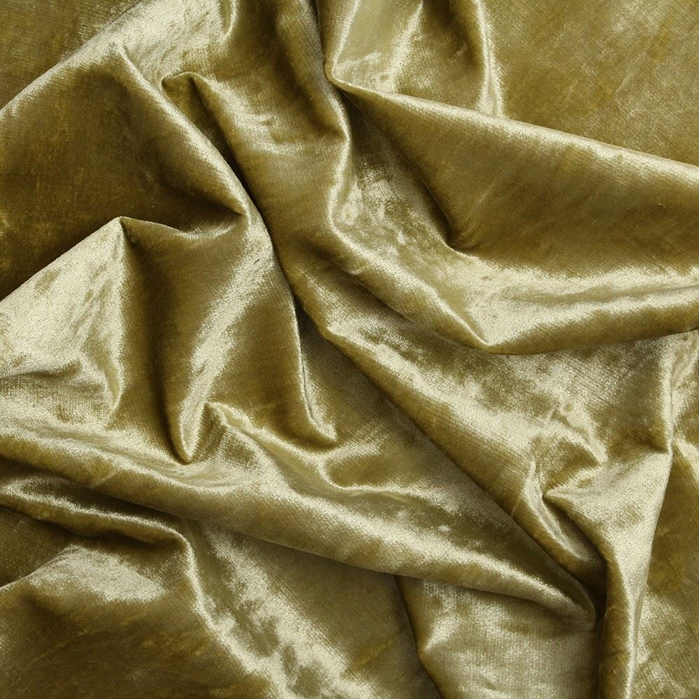 Crushed velvet fabric for curtains