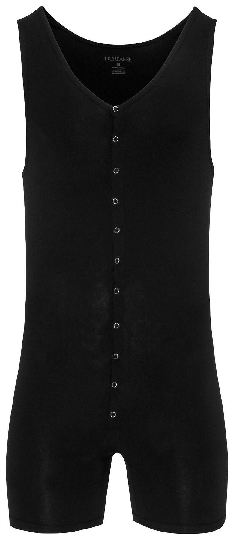 Doreanse Men/'s 5002 Soft Cotton Modal Boxer Body All in One
