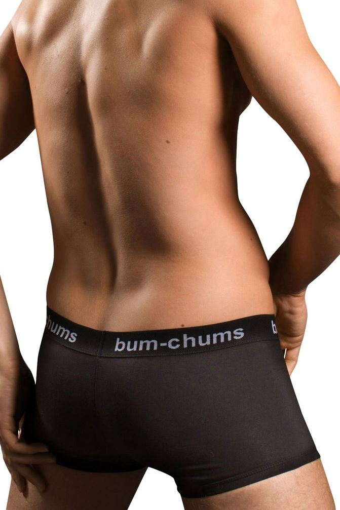 BUM Chums Men/'s Cotton Hipster Corti Biancheria Intima Tronco vendita RRP £ 16