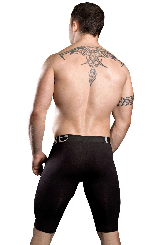 Doreanse Uomo 1785 High Rise a Lungo Gamba Boxer Trunk cotone modal Designer