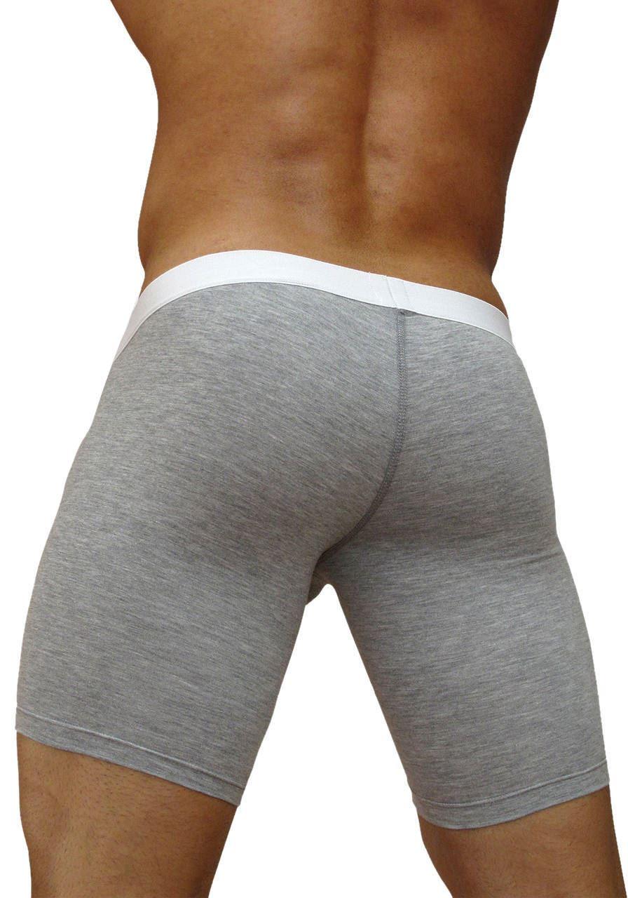 S//M Gauche Homme ergowear Max Premium Midcut riche coton plus Jambe Boxer Short