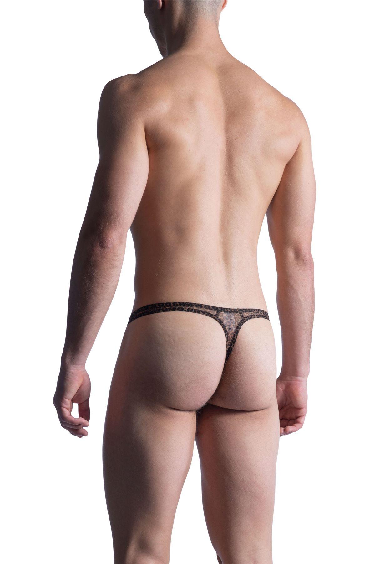 Manstore M855 Tower String men/'s underwear enhancing thong male slip mesh animal