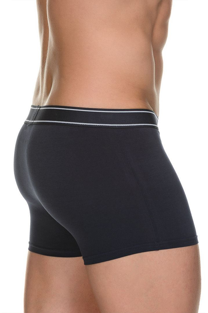 Bruno Banani Long Line Short 2 Pack Value Cotton Men/'s Boxer with Fly front
