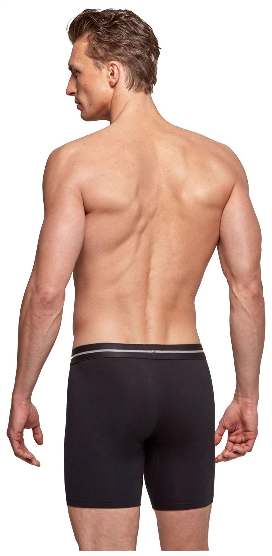 Impetus Cotton Stretch Long Boxer mens underwear short longer leg sporty trunk
