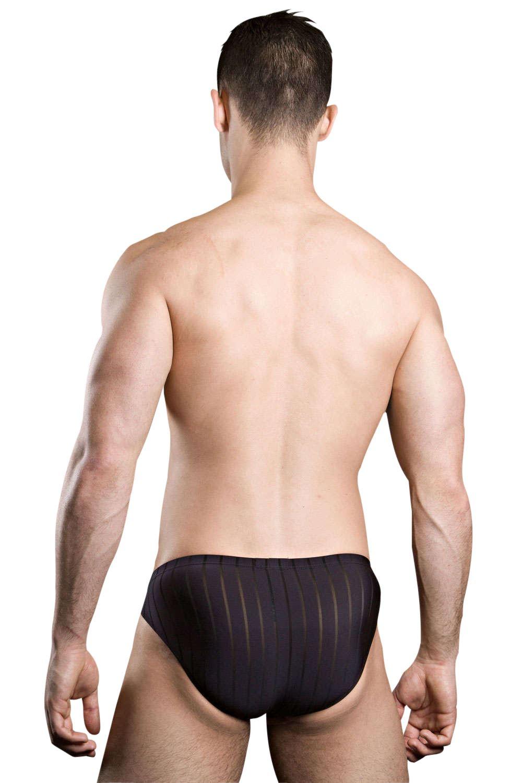HOM per lui Micro Slip Bikini Slip Nero Rosso Seta MEN/'S Underwear