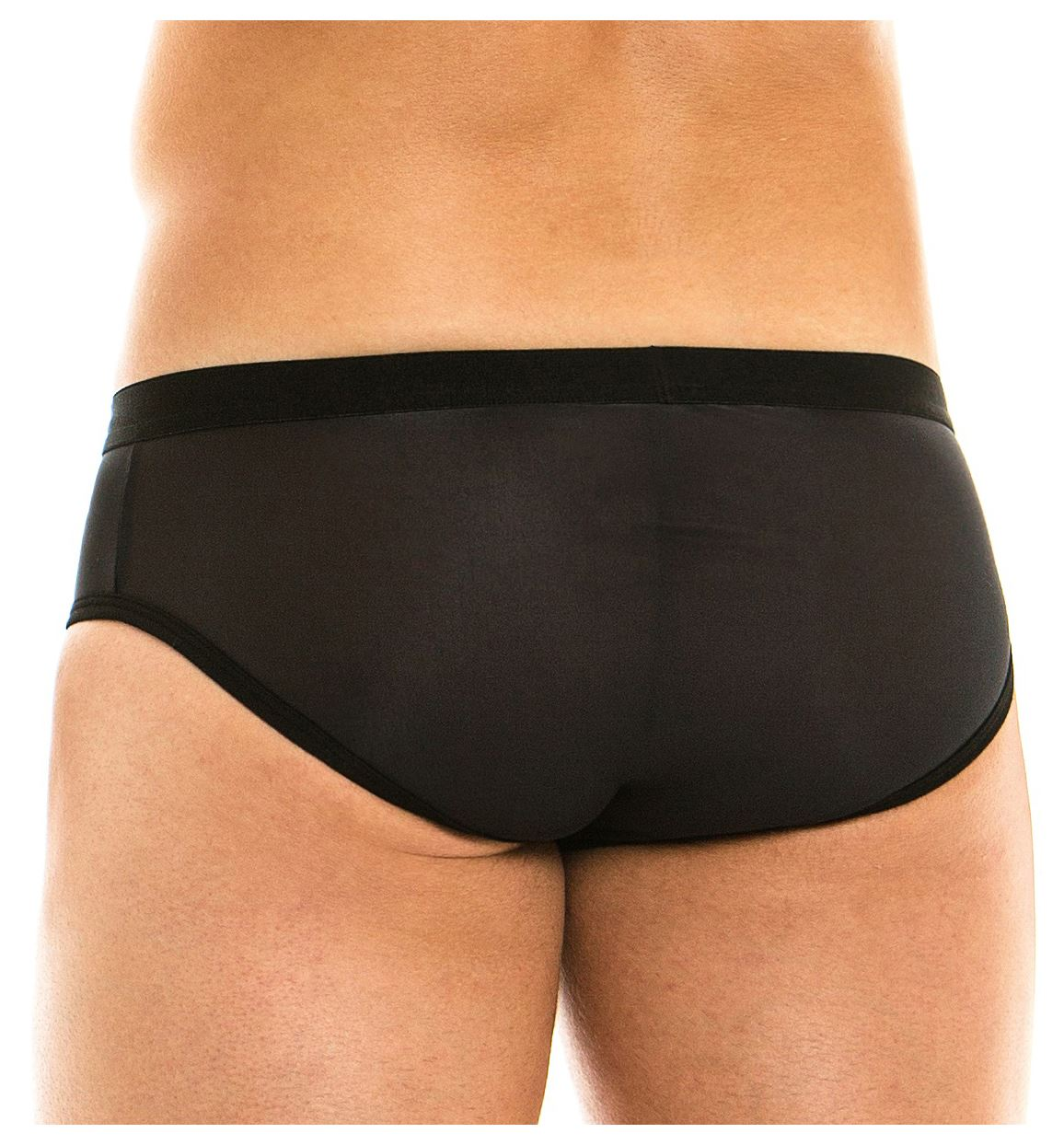Modus Vivendi C-Through Brief men/'s underwear slip male bikini silky see through