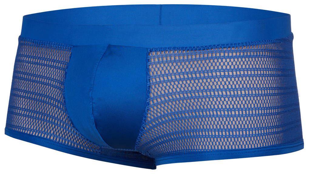 Doreanse 1588 Boxer Brief mens underwear hips short satin mesh male trunk maxi