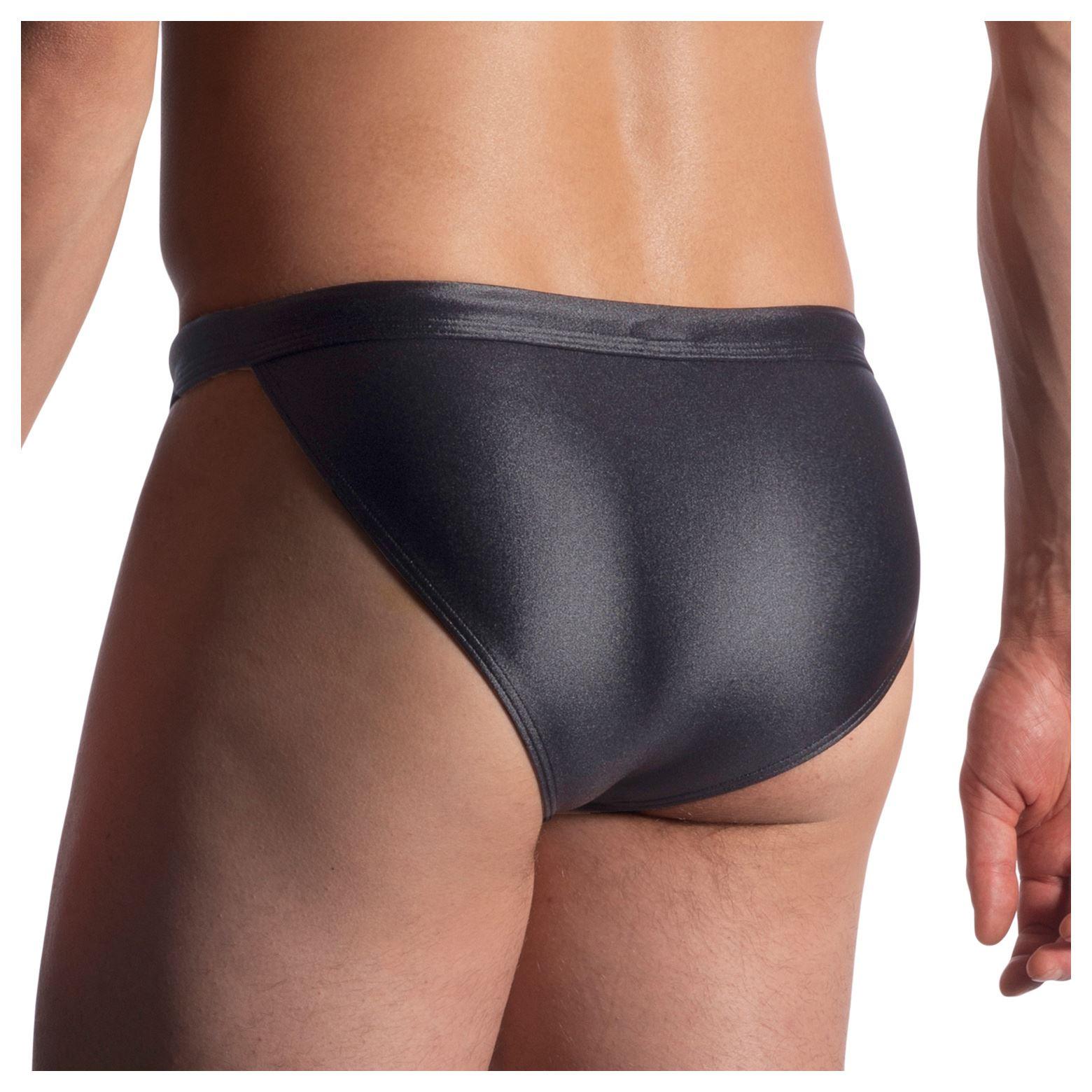 Manstore M911 Swim Micro Tanga mens swimwear brief male beach satin drawstring