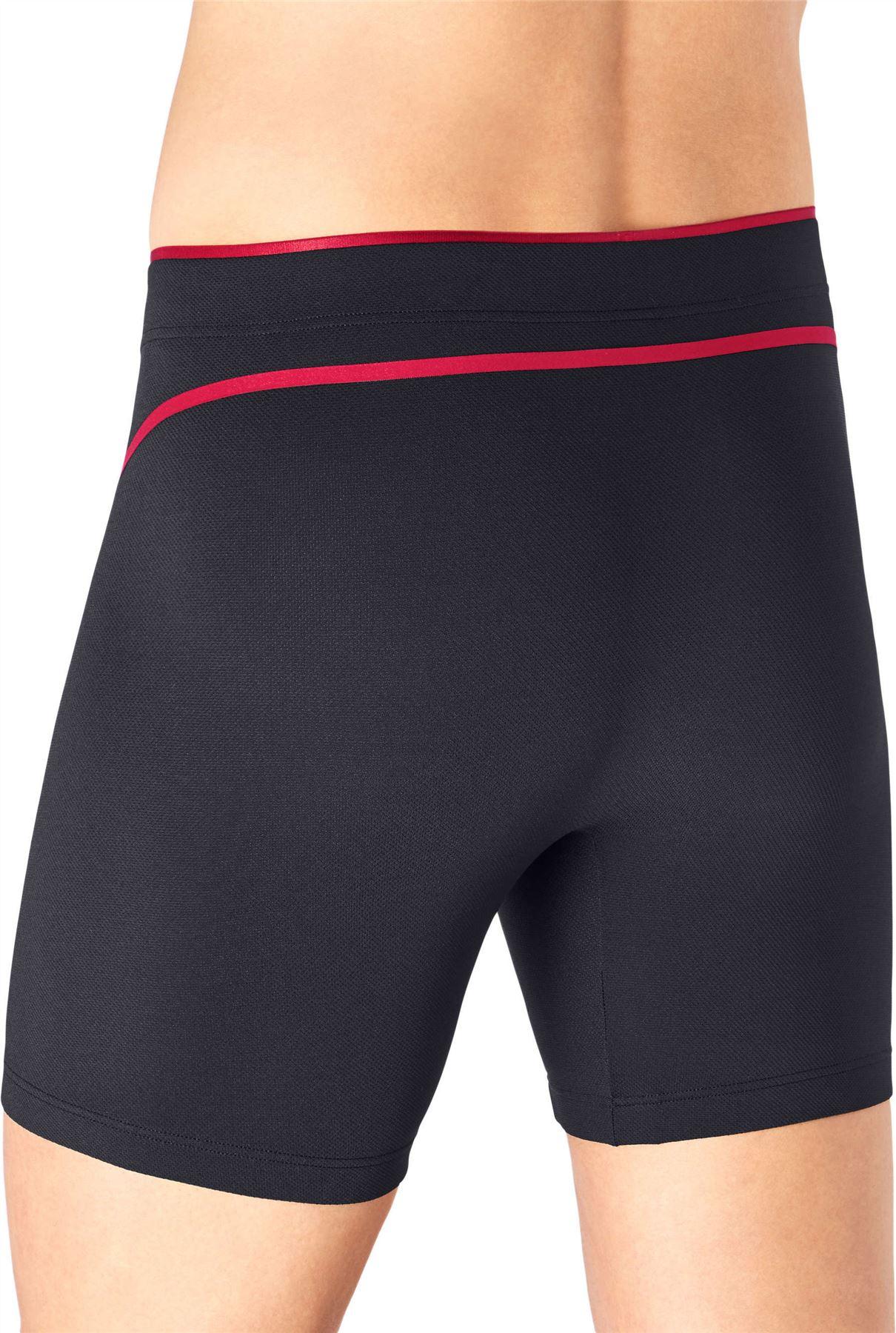 SLOGGI spostare FLEX SHORT MEN/'S Underwear CICLO lunghezza Mesh Sports BAULI Fitness