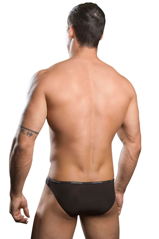 Doreanse Men 1395 Aire Micro Brief Bikini Feather Light Slip Pants Tanga Lowrise