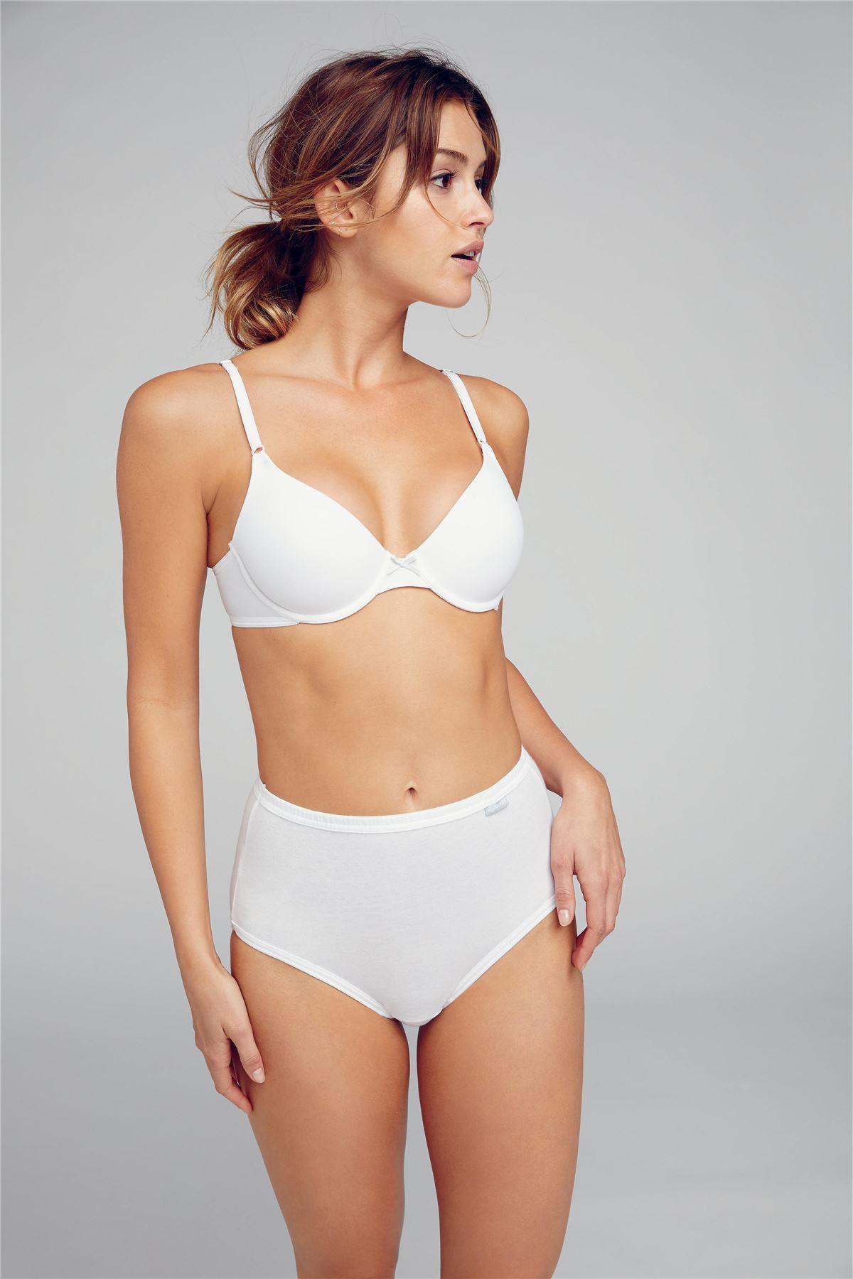 Jockey Women/'s Underwear Elance 100/% Cotton Maxi Brief 3 Pack Various Colours