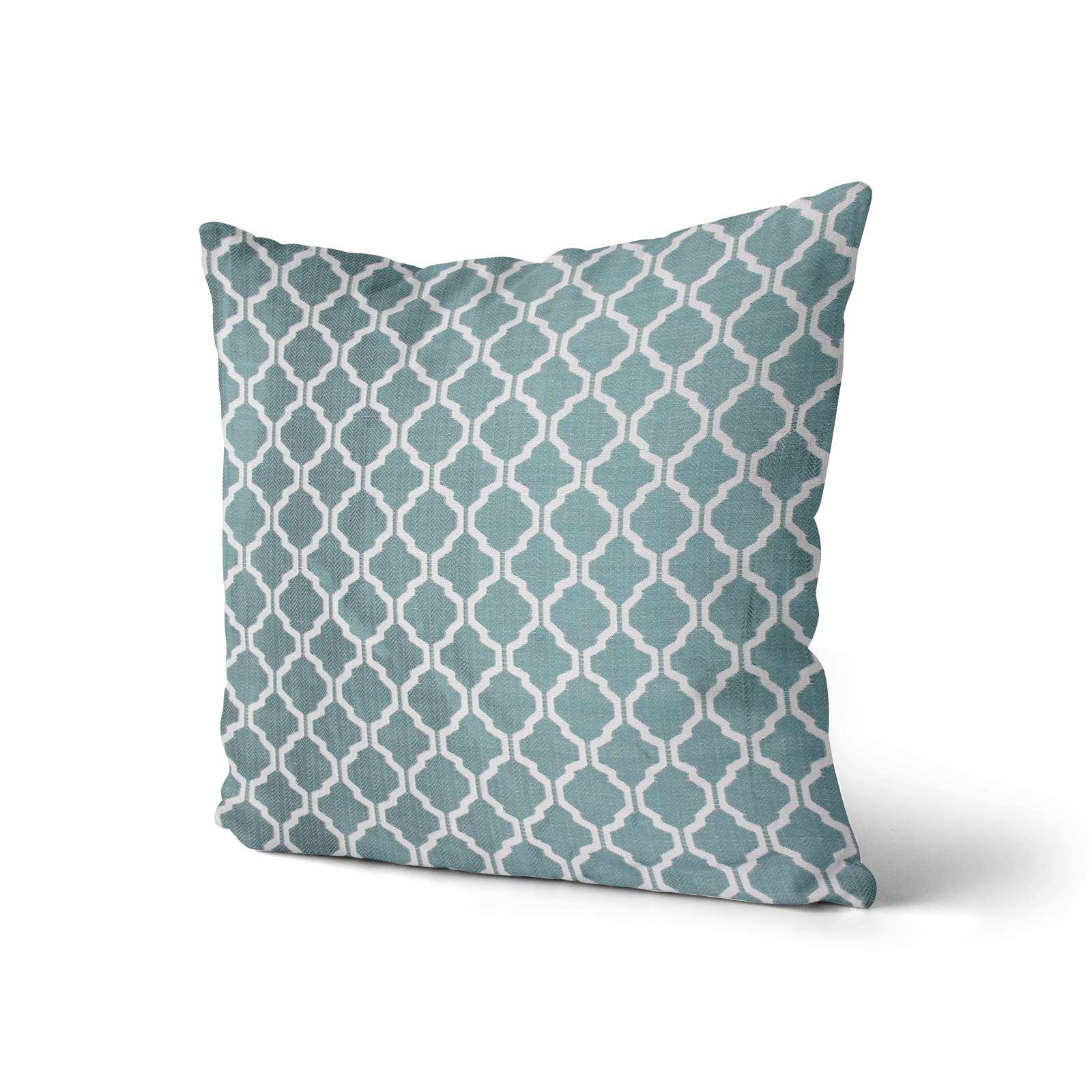 """18/"""" Cover 43cm 45cm Cushions Blue Cushion Covers Duck Egg Denim 17/"""""""