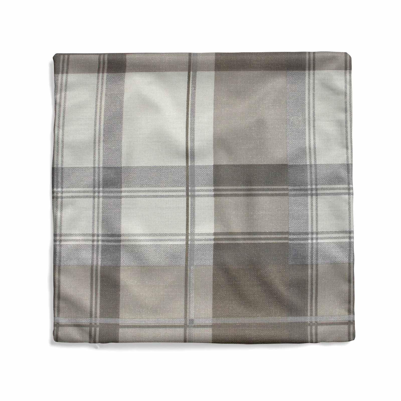 "Balmoral Check Cushion Cover Luxury Cotton Tartan Cushion Covers 17/"" x 17/"""