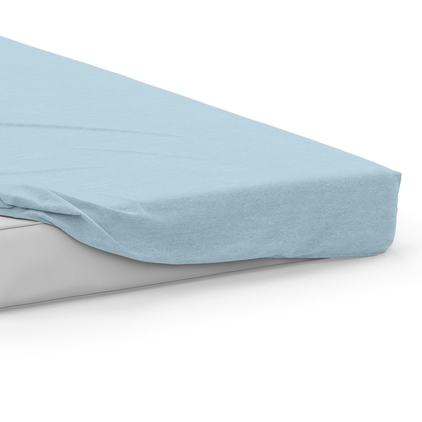 Flannelette Bed Sheets 100/% Brushed Cotton Fitted Flat Sheet Bedding Sets