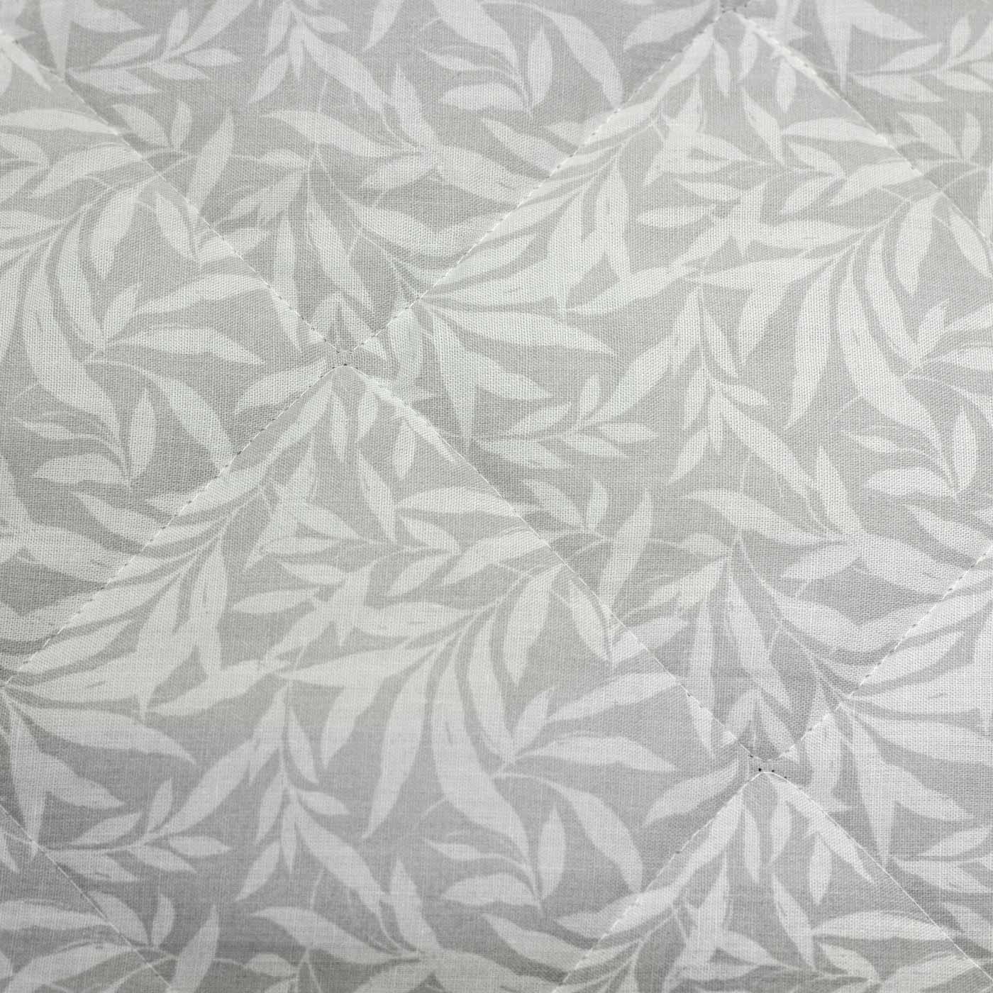Ocre housses de couette motif fleuri gris Feuille Rayure Réversible avec Housse de couette Ensembles De Literie