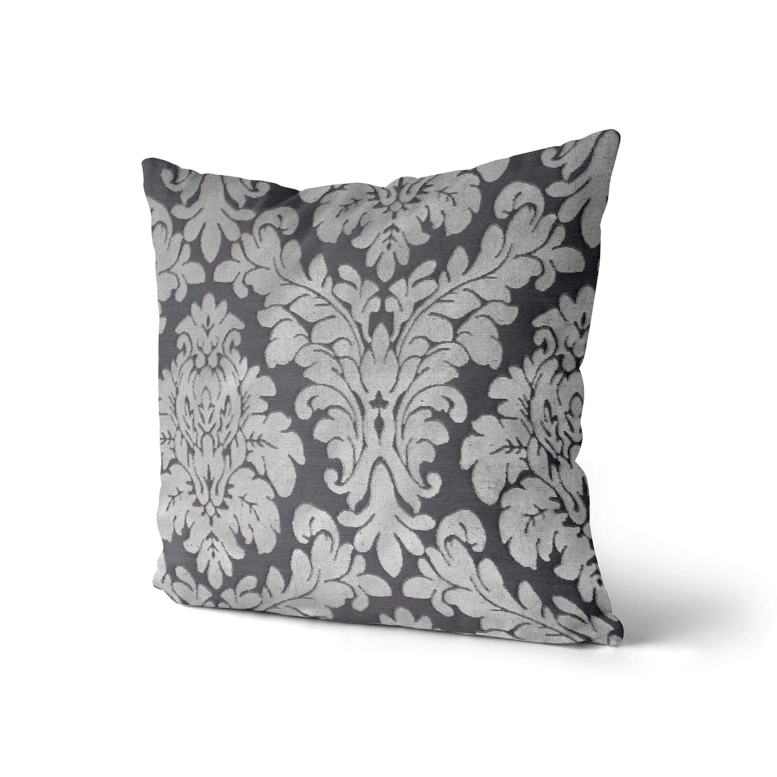 """Le Centre Floral Cushion Cover Luxury Flock Filigree Cushion Covers 22/"""" X 22/"""""""